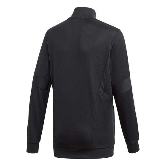 adidas Boys Tiro 19 Training Jacket, Black / White, rebel_hi-res