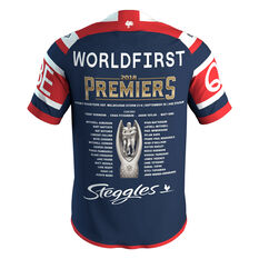 Sydney Roosters 2018 Mens Premiers Jersey Blue / Red S, Blue / Red, rebel_hi-res