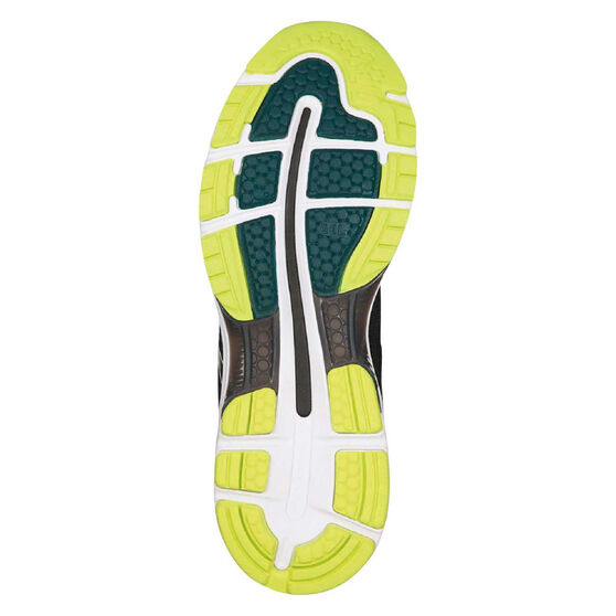 Asics GEL Nimbus 20 Mens Running Shoes, Black / Lime, rebel_hi-res