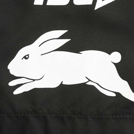 South Sydney Rabbitohs 2020 Mens Training Shorts, Black, rebel_hi-res