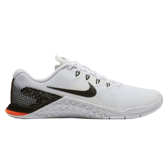 cf0fcecf8d2853 Nike Metcon 4 Womens Training Shoes White / Black US 8.5, White / Black,