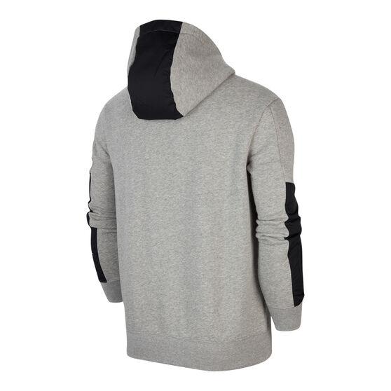 Nike Air Mens Fleece Hoodie, Grey, rebel_hi-res