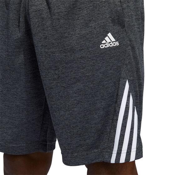 adidas Mens Axis Novelty Knit Shorts, Grey, rebel_hi-res