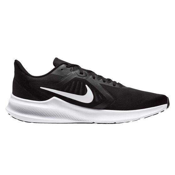 Nike Downshifter 10 Mens Running Shoes, Black/White, rebel_hi-res