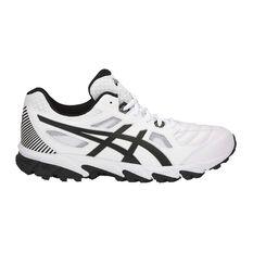 Asics Gel Trigger 12 Mens Cross Training Shoes White / Silver US 7, White / Silver, rebel_hi-res