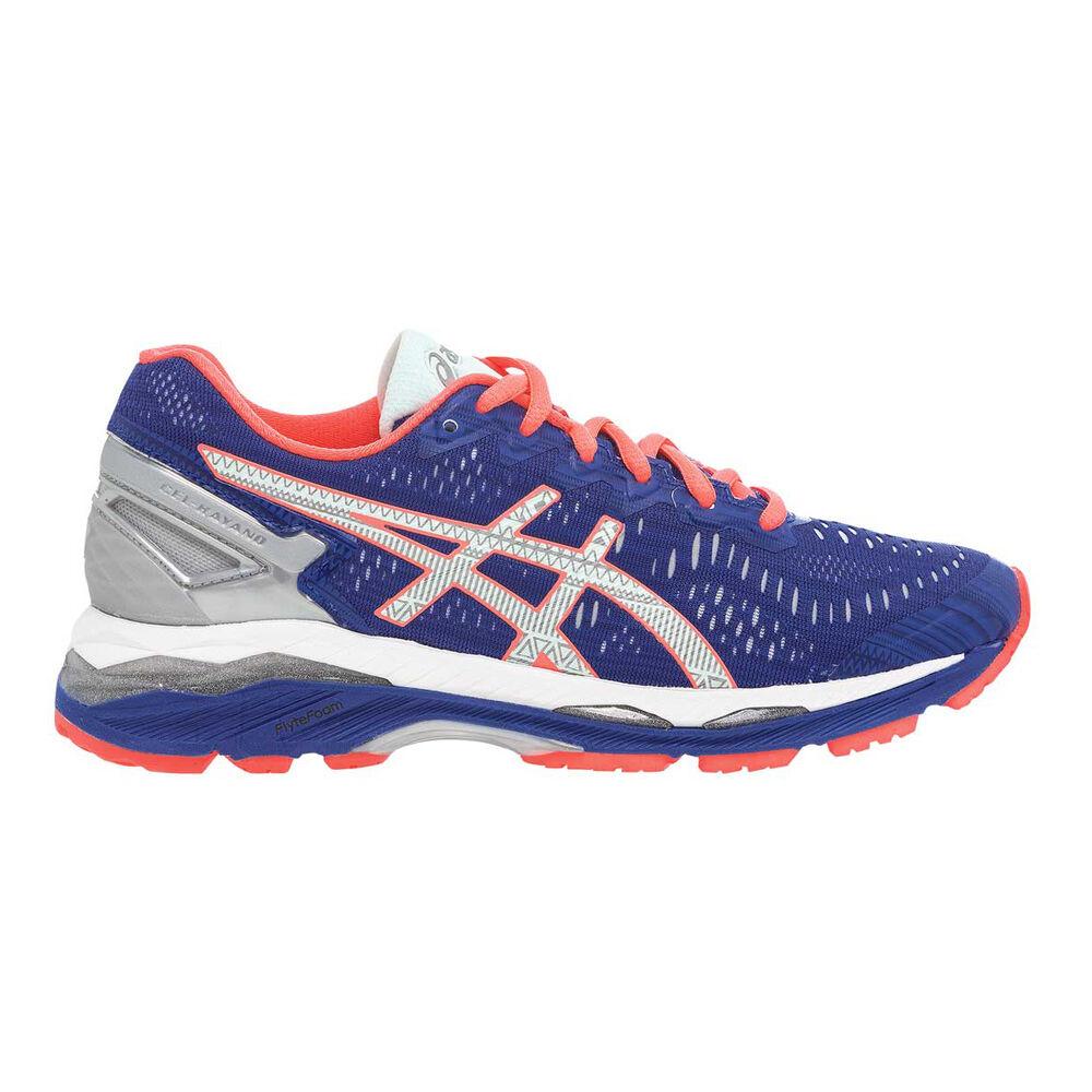 e3d94c5ce0bf Asics Gel Kayano 23 Lite Show Womens Running Shoes Blue   Orange US ...