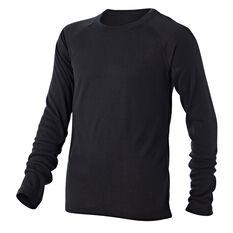 Tahwalhi Kids Peak Thermal Long Sleeve Top Grey 4, Grey, rebel_hi-res