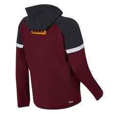 QLD Maroons State of Origin 2020 Mens Tech Pro Hoodie Maroon S, Maroon, rebel_hi-res