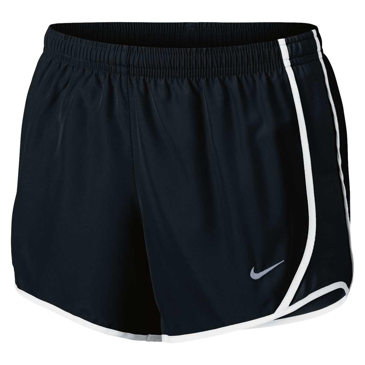 girls white nike shorts