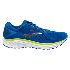 Brooks Aduro 6 Mens Running Shoes Blue / White US 7, Blue / White, rebel_hi-res