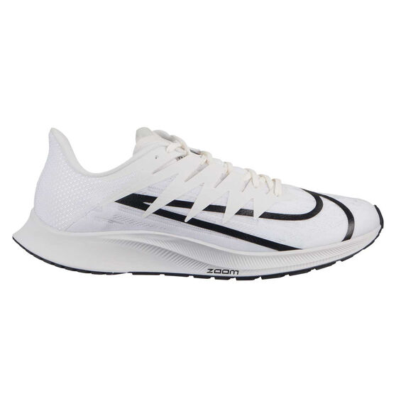 Nike Zoom Rival Fly Womens Running Shoes, White / Black, rebel_hi-res