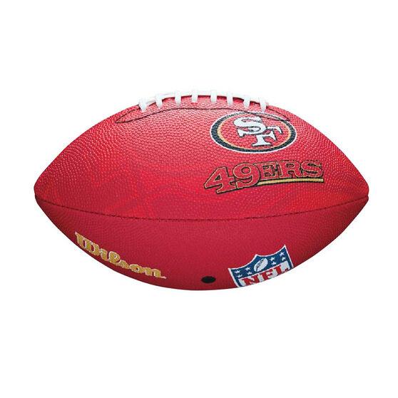 Wilson NFL San Francisco 49ers Junior Team Football, , rebel_hi-res