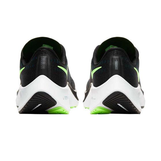 Nike Air Zoom Pegasus 37 Kids Running Shoes, Blue / Green, rebel_hi-res