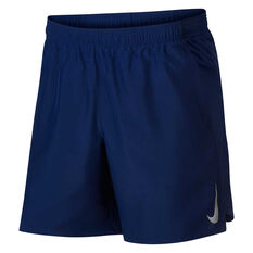 Nike Mens Challenger 7in Shorts Blue S, Blue, rebel_hi-res