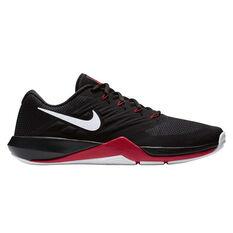 Nike Lunar Prime Iron II Mens Training Shoes Black / White US 7, Black / White, rebel_hi-res