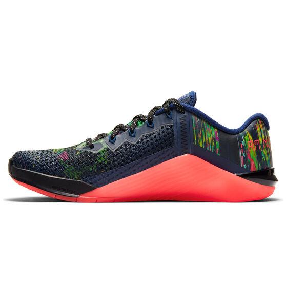 Nike Metcon 6 AMP Womens Training Shoes, Blue/Purple, rebel_hi-res