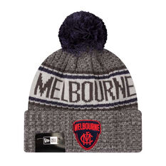 Melbourne Demons New Era 6 Dart Cuff Beanie, , rebel_hi-res