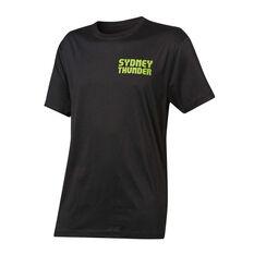 Sydney Thunder 2019 Mens Graphic Tee Black S, Black, rebel_hi-res