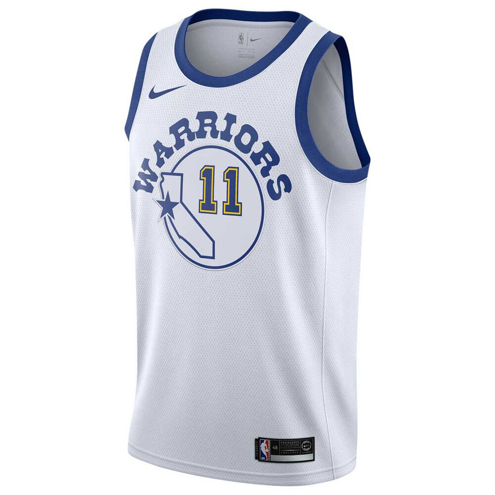 aa077120e7d Nike Golden State Warriors Klay Thompson HWC 2018 Mens Swingman Jersey  White / Royal M,