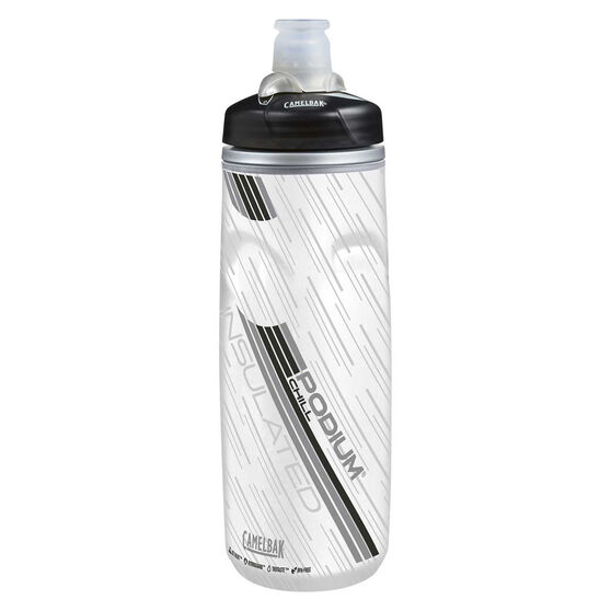 Camelbak Podium Chill 600ml Water Bottle Carbon 600mL, Carbon, rebel_hi-res