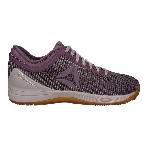 Reebok Crossfit Nano 8.0 Flexweave Womens Training Shoes, Purple, rebel_hi-res