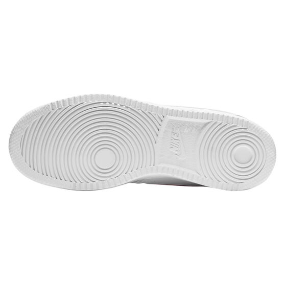 Nike Court Vision Low Womens Casual Shoes, White/Pink, rebel_hi-res