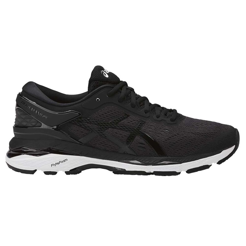 Asics GEL Kayano 24 Womens Running Shoes Black   White US 6  11997cee3