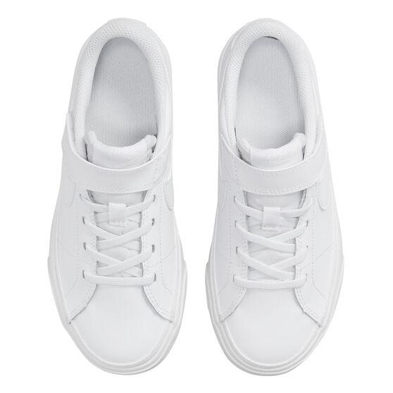 Nike Court Legacy Kids Casual Shoes, White, rebel_hi-res