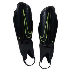 Nike Junior Charge Football Shin Guards Black S, Black, rebel_hi-res