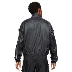 Giannis Mens Lightweight Track Jacket Black S, Black, rebel_hi-res