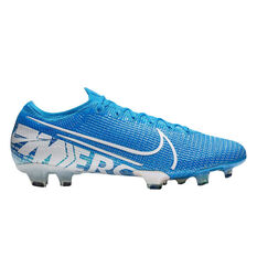 d3892a4fd Nike Mercurial Vapor XIII Elite Football Boots Blue / White US Mens 7 /  Womens 8.5 ...