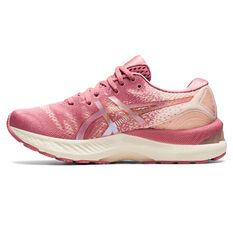 Asics GEL Nimbus 23 Womens Running Shoes Pink/Beige US 6, Pink/Beige, rebel_hi-res