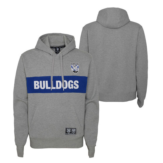 Canterbury Canterbury-Bankstown Bulldogs 2021 Kids Hoodie, Grey, rebel_hi-res