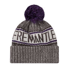 Fremantle Dockers New Era 6 Dart Cuff Beanie, , rebel_hi-res