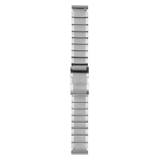Garmin QuickFit 22mm Stainless Steel Watch Band, , rebel_hi-res