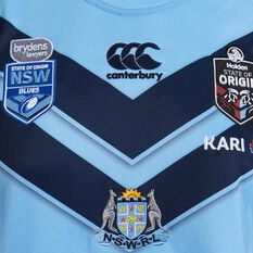 NSW State of Origin  Womens Jersey Blue 8, Blue, rebel_hi-res
