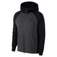 Nike Mens Sportswear Tech Fleece Hoodie Black XS, Black, rebel_hi-res