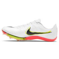 Nike Air Zoom Maxfly Track Shoes White/Black US 4, White/Black, rebel_hi-res