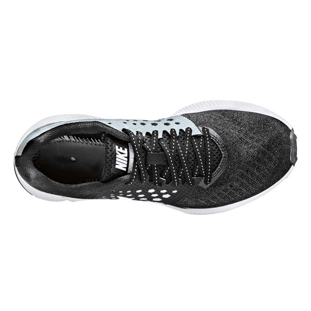 nike air zoom a donne scarpe da corsa nero / bianco 6 rebel sport