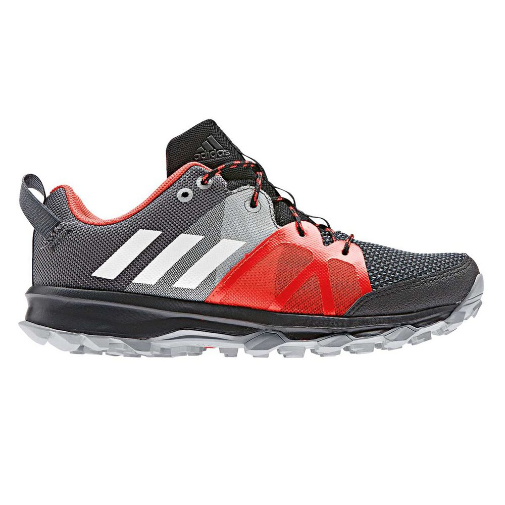 separation shoes ec9ee aec13 adidas Kanadia 8 Boys Running Shoes Black  White US 4, Black  White,