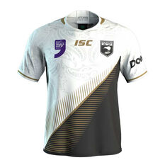 New Zealand Kiwis World 9s Mens Jersey White / Multi S, White / Multi, rebel_hi-res