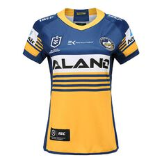Parramatta Eels 2020 Womens Home Jersey Yellow / Blue 8, Yellow / Blue, rebel_hi-res