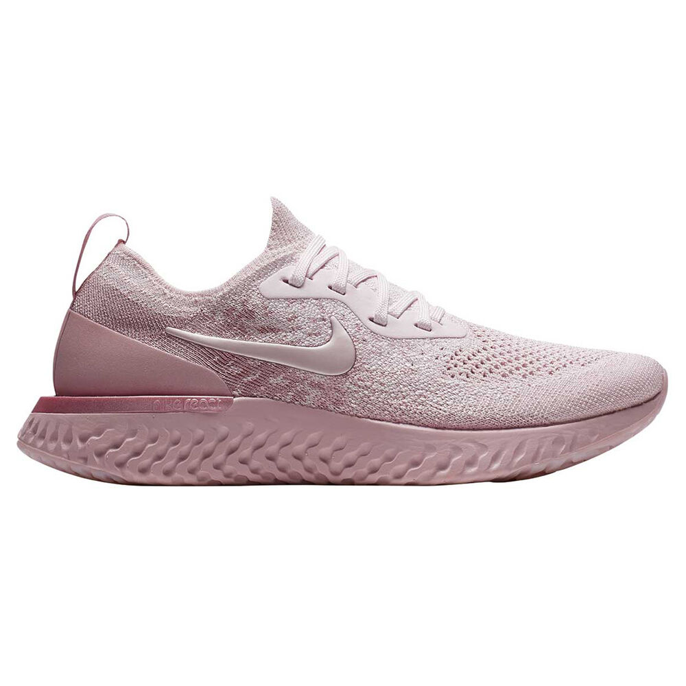 1c675f870a8e9 Nike Epic React Flyknit Womens Running Shoes Pink US 6.5