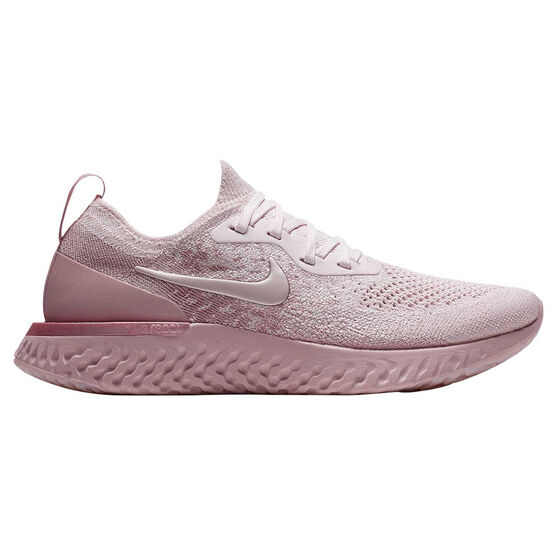 d48f6359f16 Nike Epic React Flyknit Womens Running Shoes Pink US 6