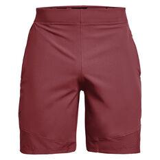 Under Armour Mens Vanish Woven Shorts Maroon S, Maroon, rebel_hi-res
