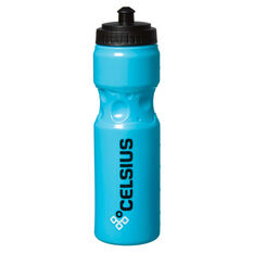 Celsius Squeezable 750ml Water Bottle, Blue, rebel_hi-res