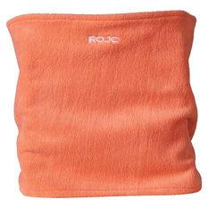 Rojo Womens Microfleece Neckwarmer Orange OSFA, , rebel_hi-res