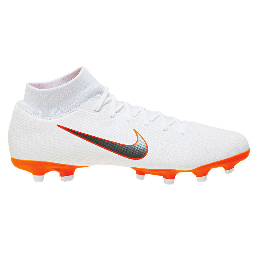 online store 5996f 58525 Nike Mercurial Superfly 6 Academy MG Mens Football Boots White   Grey US 8,  White