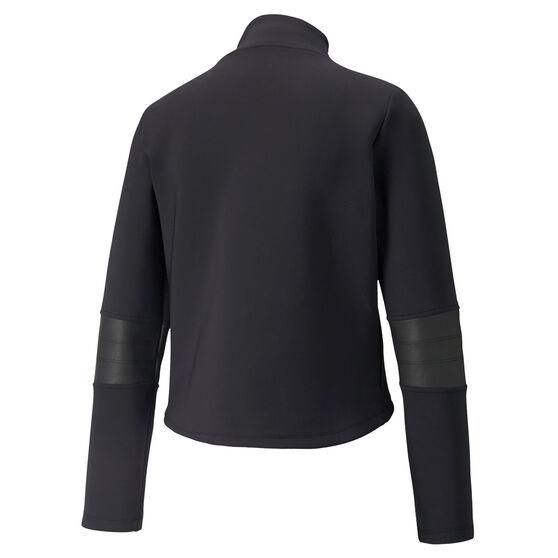 Puma Womens Moto Jacket, Black, rebel_hi-res