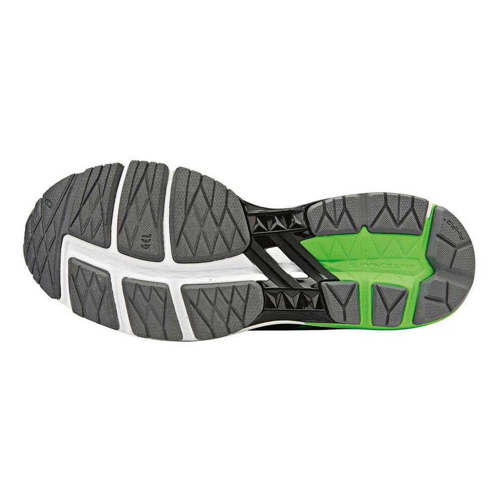Asics GT 1000 5 Mens Running Shoes Black   Green US 8.5  5e533d9e42
